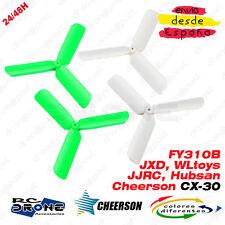 Update CHEERSON CX-30 Hélices. JJRC H108C, Hubsan X4, JXD 385, WLtoys, FY310B X6
