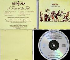 "GENESIS *VG+* ""TRICK OF TAIL"" 1973 US ATLANTIC CD (JAPANESE PRESS FOR US MARKET)"