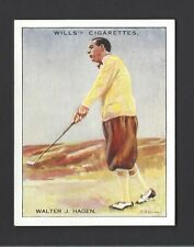 WILLS - FAMOUS GOLFERS - #7 WALTER J HAGEN