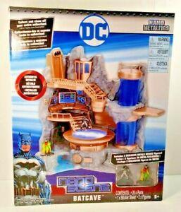 Jada Toys Nano Scene Metalfigs DC Batman Robin Batcave with Figs New SEALED 2017