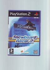Snowboard RACER 2-Sony PS2 Snowboard GAME-Veloce Post-Originale & Complete