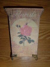 Decorative Metal Flower Vase