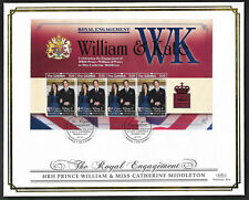 Gambia 2011 Large FDC Engagement of William & Catherine Ltd Ed 22/250