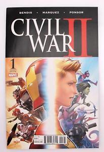 Civil War II #1 Variant D, Marvel Comics Variant Cover by David Marquez