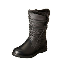 NEW Womens Totes Winter Judy Snow Boots Black Size 6 M Waterproof Thermolite