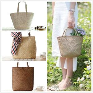 Womens Summer Beach Handbag Zip Up Shoulder Bag Shopper Bag Tote Bag Holiday Bag