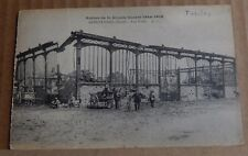 Postcard WW1 Armentieres france Artillery Damage unposted.