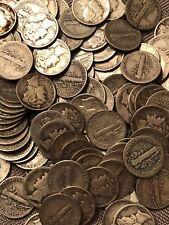 90% Silver Mercury Dimes $1 Face Value