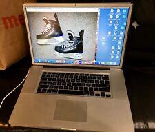Apple Macbook Pro 17-in 2009 Laptop Intel Core 2.8Ghz,4GB,500GB HD matte screen