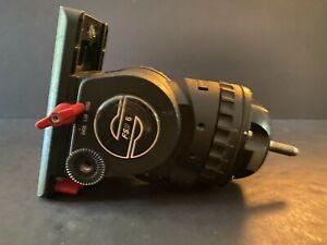 Sachtler FSB6 Fluid Head needs handles, mount plate, tie down and a knob 8831