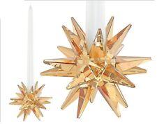 Swarovski Crystal Star Candleholder Golden Shadow #5064296 Brand Nib Save$ F/Sh