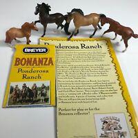 BREYER Stablemates Horses BONANZA PONDEROSA RANCH Play Set PARTS Animals