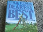 THE DEAREST AND THE BEST by Leslie Thomas. 1st ed. 1984 w/DJ. INSCRIBED