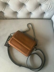 The Marc Jacobs Mini Cushion Leather Shoulder bag in Brown