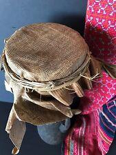 Old Papua New Guinea Sepik River Kunda Drum …real lizard skin