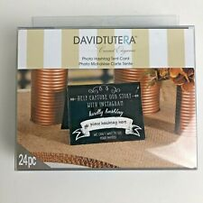 David Tutera Casual Elegance Photo Hashtag Tent Card Instagram Wedding Reception