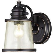 Westinghouse 6204000 Emma Jane One Light Outdoor Wall Lantern Amber Bronze wi.