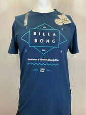 New Billabong Rect. Diamond Men's Short Sleeve T-Shirt, Mult Colors, S-XL, Slim