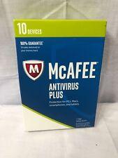 McAfee AntiVirus (10 Devices) MAV17ELP0RAA NEW SEALED RETAIL BOX✅❤️️✅❤️️✅❤️️