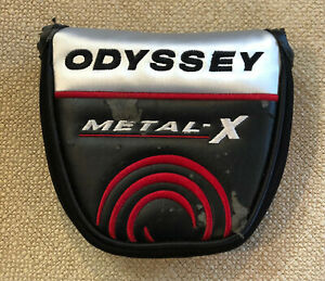 Odyssey Metal-X Mallet Magnetic Putter Headcover RH or LH