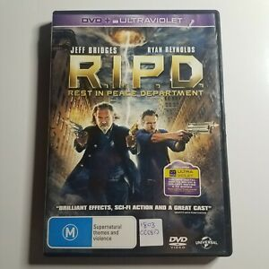 R.I.P.D. (Rest In Peace Department) | DVD Movie | Ryan Reynolds, Jeff Bridges