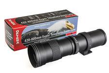 420-800mm Telephoto Lens for Samsung Galaxy NX NX1 NX3000 NX2000 NX500 NX300