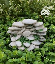 Miniature Dollhouse FAIRY GARDEN Accessories ~Small Gray Resin Stone Rock Pile