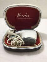 Vintage Norelco Rotary Speedshaver with Case & Brush