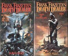 James Silke ~ Frank Frazetta's Death Dealer 1 & 2 ~ Horned Helmet & Lords Of...