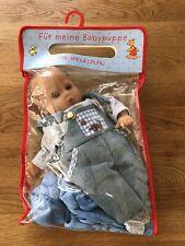 Babypuppe ca. 32cm   Augen klappen auf und zu   mit Weichkörper*TOP