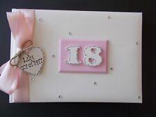 Personalised 18th/21st/30th/40th Anniversaire Album Photo Album Livre de Souvenirs Cadeau