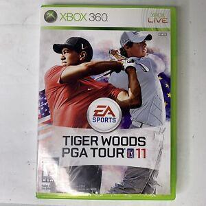 Tiger Woods PGA Tour 11 (Microsoft Xbox 360, 2010) CIB + TESTED