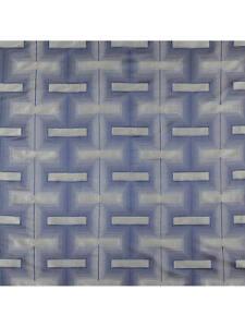 John Lewis Lawson Silver & Blue Furnishing Abstract Fabric 3.5 Meter L x 140cm W