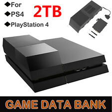 2TB Data Bank Game External Hard Drive for PlayStation 4 Peripherals Accessory