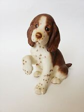 Lenox English Springer Spaniel Puppy Porcelain Figurine Dog 1997 Ltd Ed 6.5H