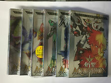 AQUARION  6 DVD NUOVI  1° edizione