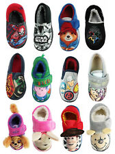 ChildrensSlippers Boys Girls Star Wars Avengers Toy Story Slippers Shoes Size