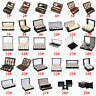 1-12 Slots Watch Necklace Jewelry Glasses Storage Case Display Box Organizer