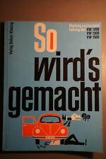 VW KÄFER 1200 + Karman Ghia So wirds gemacht Reparaturanleitung Handbuch 1970