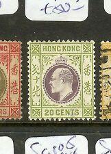 HONG KONG (P2906B) KE 20C   SG96  MOG
