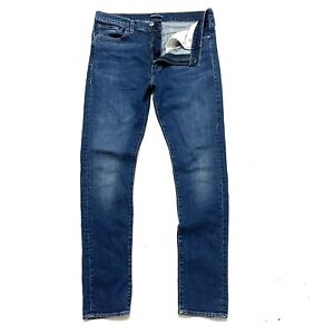 Levis 510 Made & Crafted 36 x 34 Skinny Fit Blue Jeans