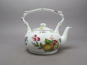 Arthur Wood England Teekanne Porzellan Tea Cup Früchte Apfel blackberry