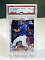 2019 Bowman Chrome Prospects Tim Tebow #BCP-156 PSA 9 Mint Baseball Card