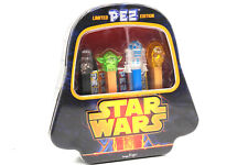 PEZ SPENDER BLECHDOSE STAR WARS BOX DARTH VADER CRYSTAL SET LIMITED EDITION