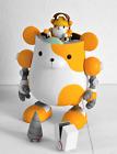 "Panda Z - Hamugear 01 - Robonimal Megahouse - Mazinger - 5.5"" - Street Art robot"