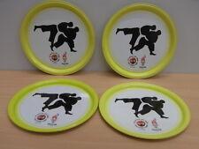 4 Coasters Judo Atlanta 1996 Olympic Games CocaCola