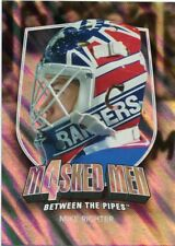 11/12 BETWEEN THE PIPES MASKED MEN 4 SILVER MASK #MM-38 MIKE RICHTER *48333