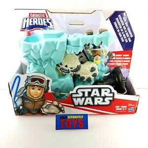 NEW Hasbro Star Wars ECHO BASE ENCOUNTER Playskool Galactic Heroes playset