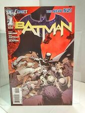 Batman #1 New 52 2nd Printing (2011) 8.0 VF Snyder/Capullo