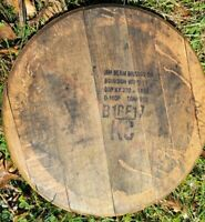 Jim Beam Barrel Head Authentic Finished & Ready to Hang Whisky Bourbon Lid
